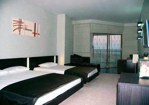 pier suites de luxe kamer uitzicht op zee